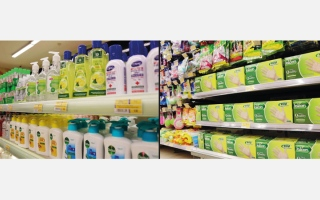 الصورة: اقتصادية دبي تطمئن السكان حول توافر مواد الوقاية والتعقيم