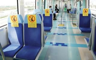 الصورة: تمديد إيقاف خدمات مترو وترام دبي خلال «التعقيم الوطني» حتى 5 أبريل