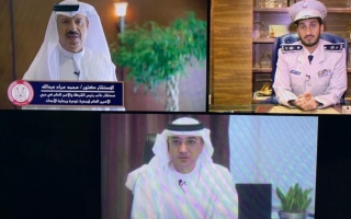 الصورة: مجلس شرطة أبوظبي الافتراضي الأول يتصدّى للشائعات