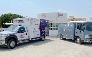الصورة: «كفو» تزوّد مركبات «إسعاف دبي» بالوقود مجاناً لمدة أسبوعين
