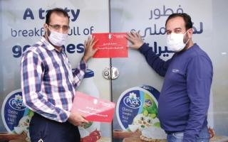 الصورة: إغلاق منشأة رفعت أسعار سلع غذائية في دبا الفجيرة