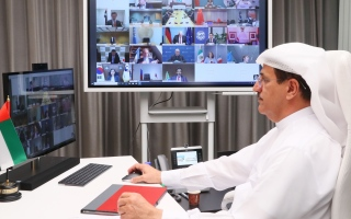 الصورة: الإمارات تدعو إلى استجابة عالمية منسقة لأزمة «كورونا»