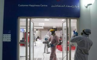 الصورة: «طرق دبي» تغلق 27 مركز خدمات ضمن إجراءات الوقاية من «كورونا»