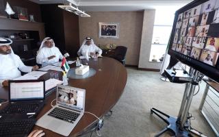 الصورة: «الأولمبية» تدعو  الاتحادات إلى عقد الاجتماعات بتقنية الاتصال المرئي