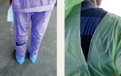 الصورة: أطباء الهند يكافحون «كورونا» وسط غياب وسائل الوقاية