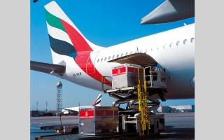 الصورة: 54 شركة للشحن الجوي تعمل في مطارات الدولة