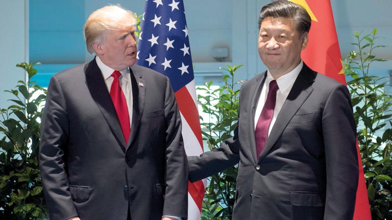 الرئيسان الصيني والأميركي يمكن أن يحشدا جهوداً كبيرة لإيجاد لقاح للفيروس.  رويترز