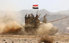 الصورة: الجيش اليمني يحرّر مواقع  في مأرب و3 قرى بصعدة