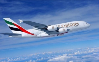 """الصورة: """"طيران الإمارات"""": تشغيل رحلات للركاب اعتباراً من 6 أبريل"""