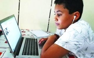 الصورة: «التربية» تحدد مهام ذوي الطلبة لضبط «المدرسة الافتراضية»