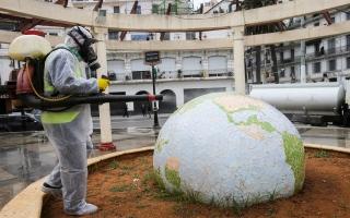 الصورة: الجزائر تسجل أكبر عدد وفيات بفيروس كورونا في يوم واحد