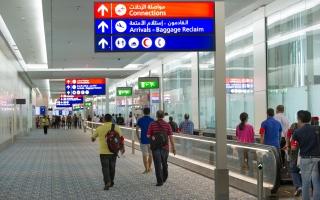 """بيان من """"مطارات دبي"""" بخصوص الرحلات الجوية اعتباراً من اليوم"""