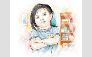 الصورة: متبرّعة تتكفل بعلاج «فاطمة» لمدة 6 أشهر