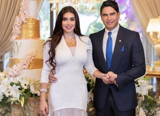ياسمين صبري وأحمد أبو هشيمة يحتفلان بعقد قرانهما - حياتنا - مشاهير -  الإمارات اليوم