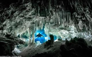 الصورة: متاهة من الكهوف تحت الماء