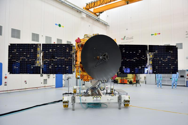مسبار الأمل أسهم في دخول الدولة رسمياً إلى السباق العالمي لاستكشاف الفضاء. من المصدر