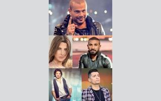 الصورة: نجوم الغناء ينافسون  على «مقدمات» مسلسلات رمضان