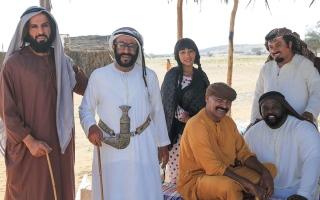 الصورة: «بنت صوغان».. نجوم الدراما الإماراتية يرسمون البسمة في رمضان