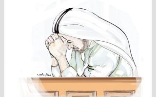 الصورة: «منصور» مهدَّد بالسجن لعجزه عن سداد 200 ألف درهم