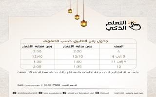 الصورة: تعرف إلى جدول وموعد الاختبارات النهائية المركزية القصيرة