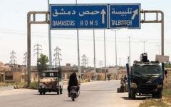 الصورة: قصف إسرائيلي يستهدف مواقع للجيش السوري بالقنيطرة