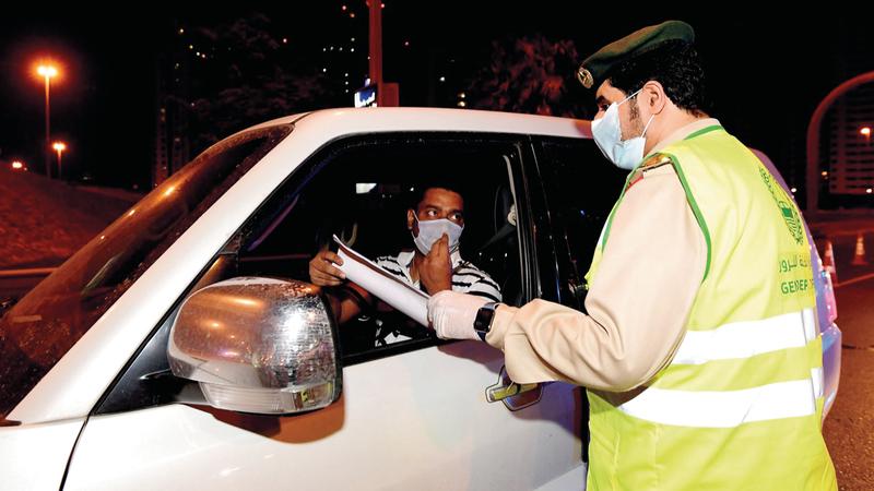 القيادة العامة لشرطة دبي وفرت للفرق الميدانية كل ما تحتاج إليه لإنجاز مهمتها. تصوير: باتريك كاستيلو