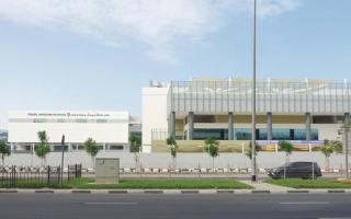 الصورة: مدرسة خاصة جديدة في دبي تستقبل طلبتها «افتراضياً»