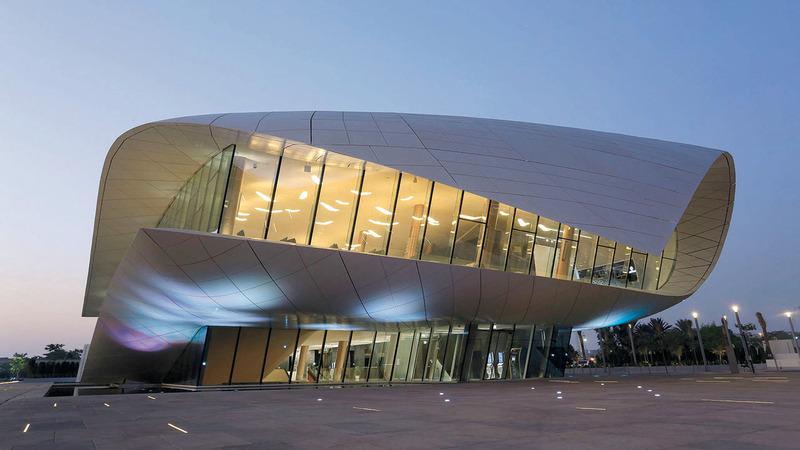 متحف الاتحاد يتمتع بخصوصية معمارية فريدة. من المصدر