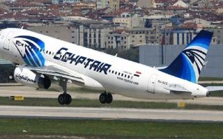 الصورة: رحلة طيران استثنائية للمصريين العالقين في الإمارات