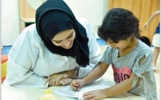 الصورة: «تنمية المجتمع» تعتمد «التقييم عن بُعد» للطلبة الجدد من أصحاب الهمم