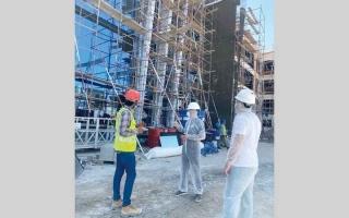 الصورة: بلدية أبوظبي تحتفي بإنجازات العمال
