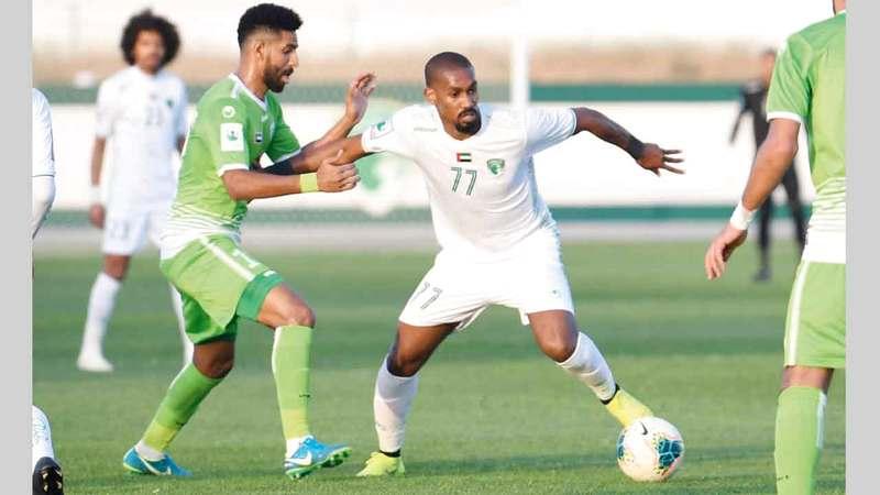 محمد جمال يلعب لفريق الإمارات معاراً من حتا.■ الإمارات اليوم