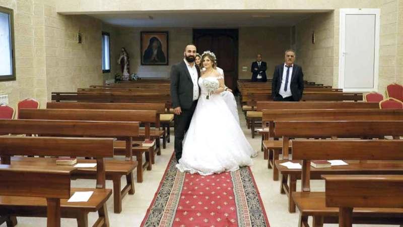 مايا وراكان خطّطا لزفاف استثنائي في الفاتيكان.  أ.ف.ب