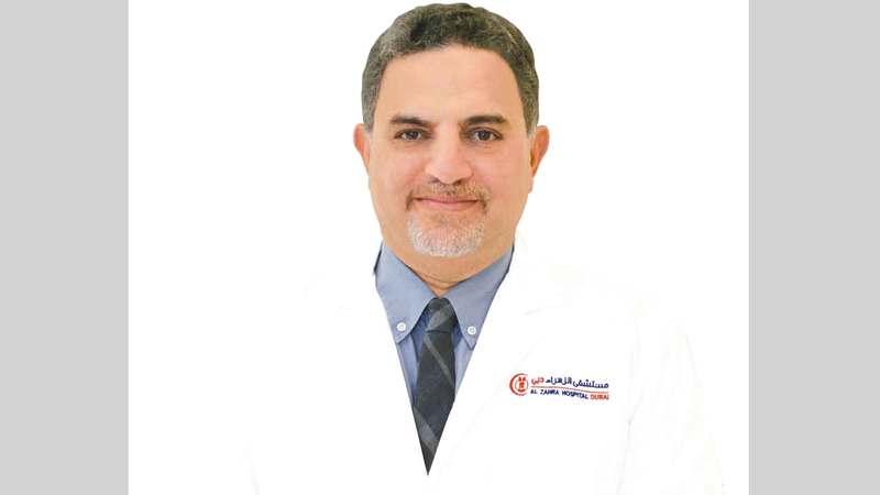 الدكتور محمد وصفي الأبياري. ■من المصدر
