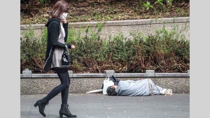 إحصاءات عدد المشردين في اليابان غير دقيقة بسبب وجود معظمهم في مقاهي الإنترنت.  أرشيفية