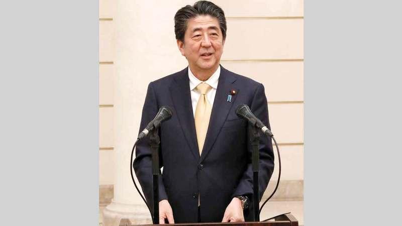 رئيس الوزراء الياباني شينزو آبي. أرشيفية