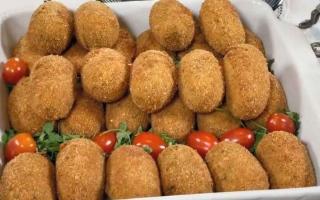 الصورة: كفتة الدجاج بالجبن والفطر