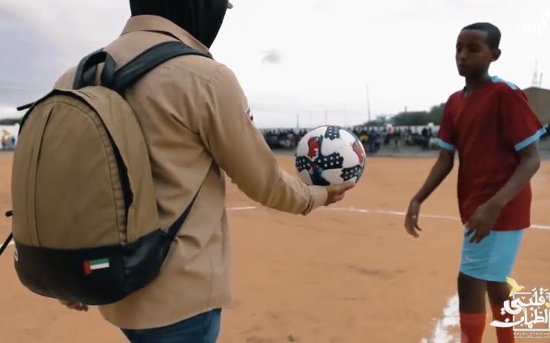 الصورة: بالفيديو.. موقف مؤثر من غيث في «قلبي اطمأن» ينصر كرة القدم