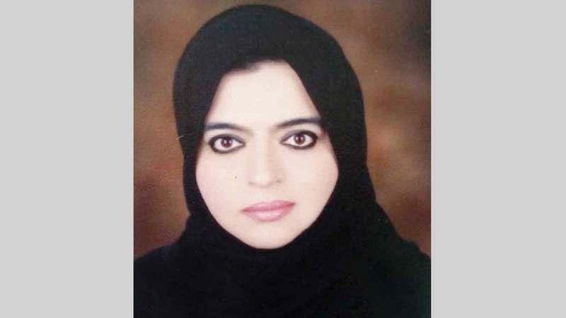 رئيسة قسم التغذية في وزارة الصحة ووقاية المجتمع لطيفة راشد.