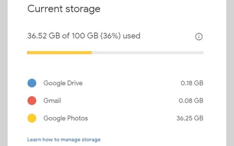 الصورة: تحسين استخدام مساحة التخزين عبر «غوغل درايف»