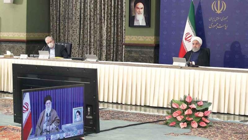 القيادة الإيرانية تخشى اشتداد الحصار أكثر. إي.بي.إيه