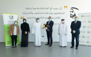 الصورة: دار البر تساهم بـ 2 مليون درهم لدعم طلبة العلم المعسرين في جامعة عجمان