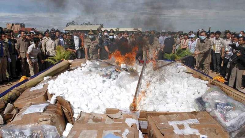 حملات الحكومة أخفقت في الحد من استخدام المخدرات والجرائم المرتبطة بها. أرشيفية