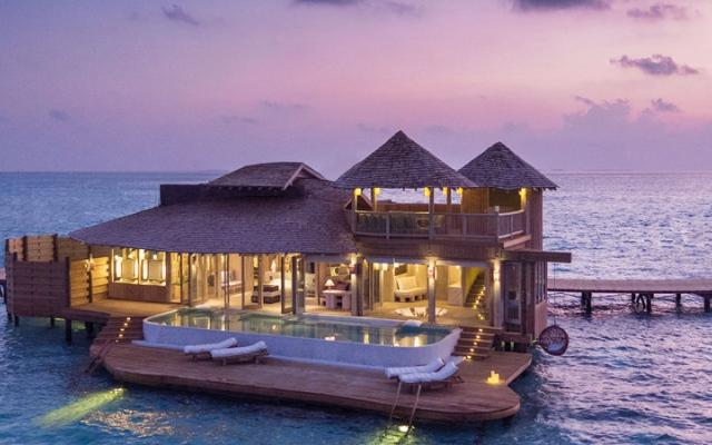 الصورة: بزاوية 360 درجة  سياحة افتراضية في قلب جزر المالديف