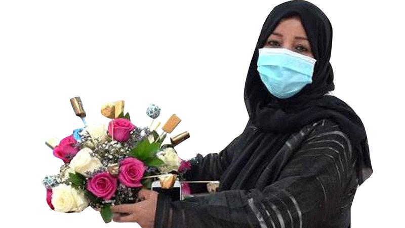زهرا أبوجمعة:  «وجدت كل الرعاية والاهتمام من الفريقين الطبي والإداري، وشعرت بتحسن كبير من اليوم الأول في المستشفى».