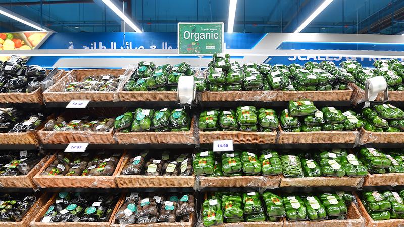 منافذ بيع ركزت بشكل أساسي على المنتجات الزراعية العضوية المحلية. تصوير: باتريك كاستيلو