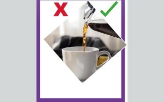 الصورة: صح- خطأ.. كسر الصيام بالقهوة