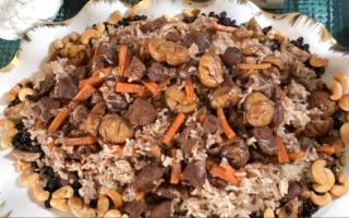الصورة: أرز بخاري مع الكستناء