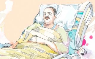 الصورة: «أبولميس» يعجز عن سداد 619 ألف درهم فاتورة علاجه