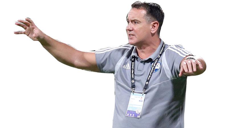 المدرب الصربي فوك رازوفيتش. الإمارات اليوم